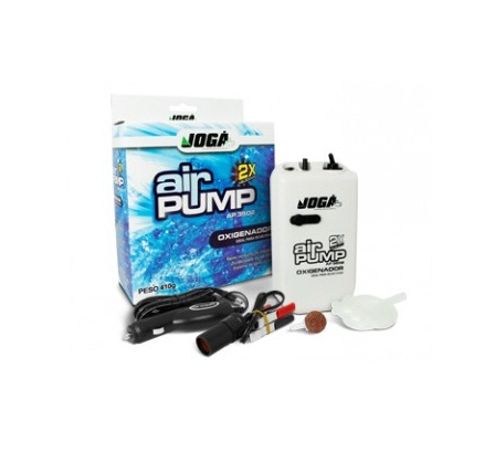 Aerador / Oxigenador CROWN JOGÁ Air Pump AP 3502 - Ideal para iscas vivas  - MGPesca