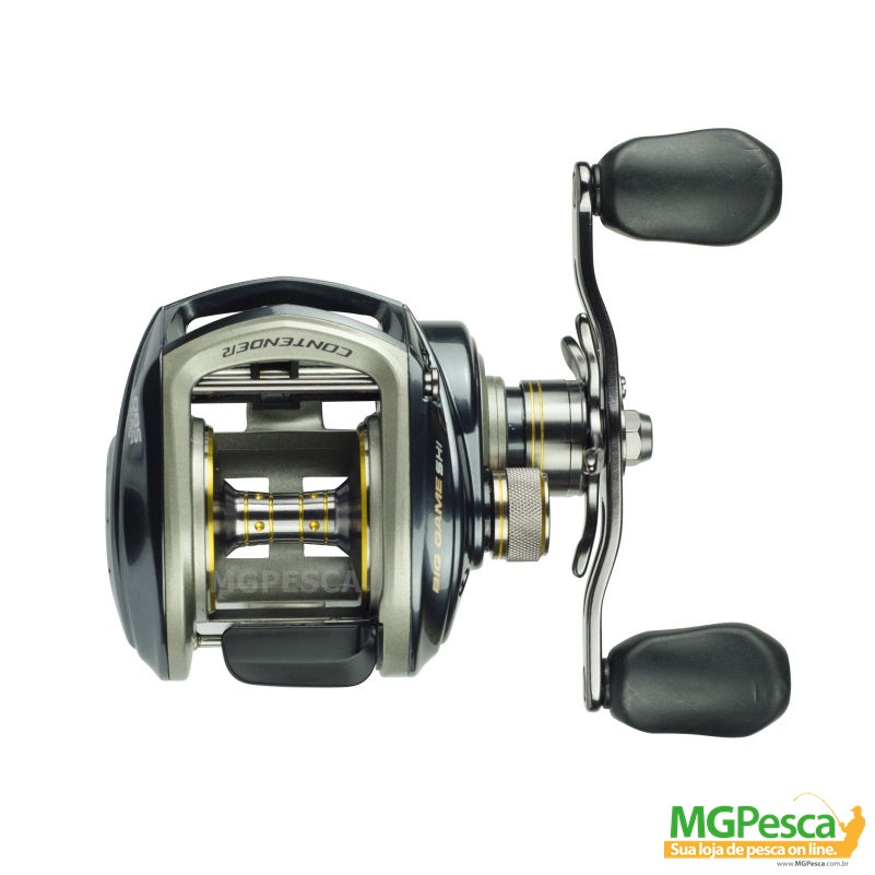 Carretilha Marine Sports New Contender GTO Big Game  - MGPesca