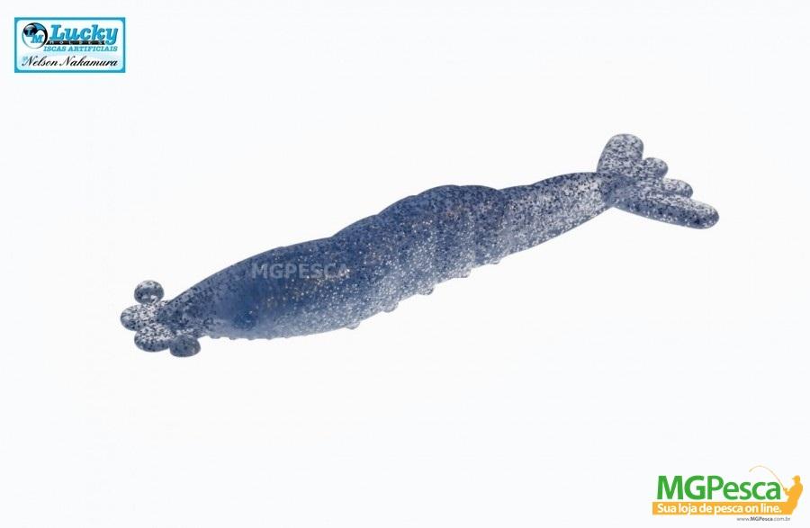 Isca Artificial Nelson Nakamura Nakamarão 9cm Camarão - Cartela com 05 unidades  - MGPesca