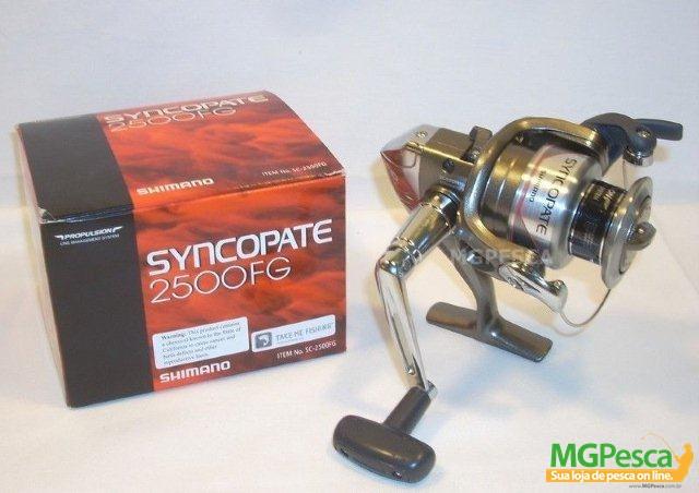 Molinete Shimano Syncopate 2500 FG  - MGPesca