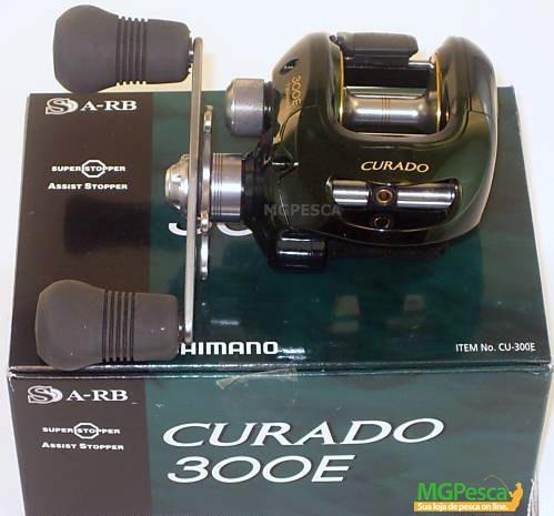 Carretilha Shimano Curado 300E - 301E  - MGPesca