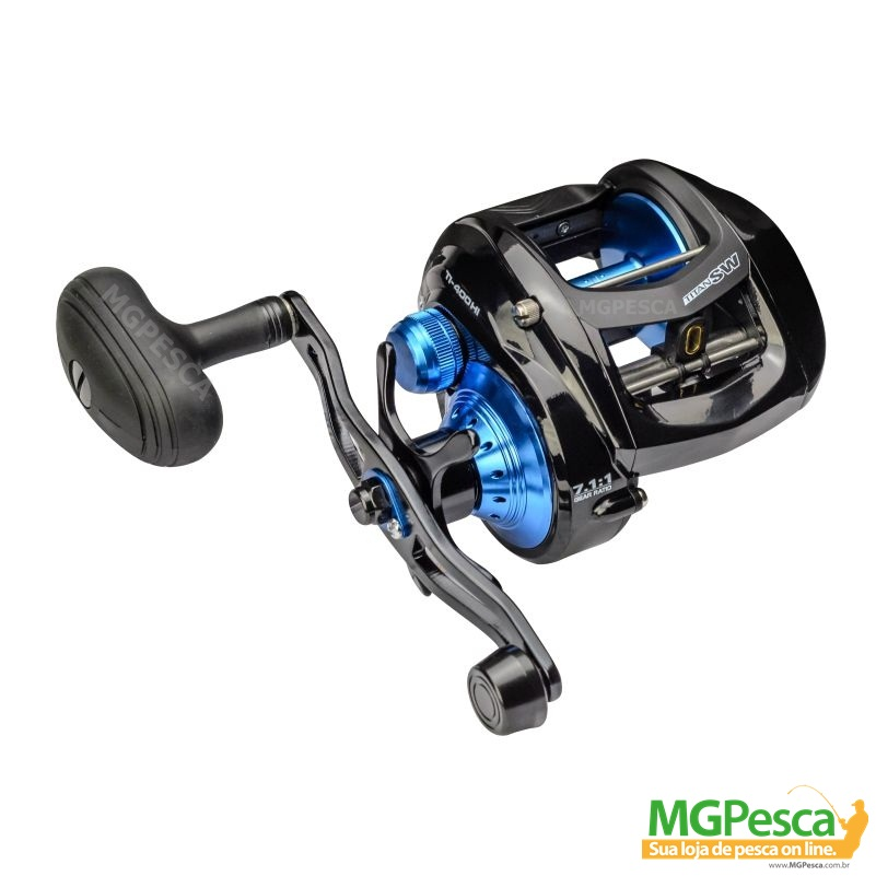 Carretilha Marine Sports Titan 400 SW Big Game  - MGPesca