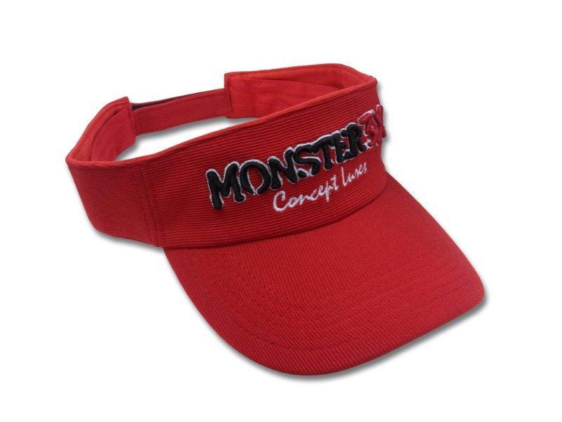 Viseira Monster 3X Regulável  - MGPesca