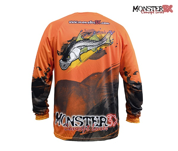 Camisa Monster 3X - Fish Collection - Robalo  - MGPesca