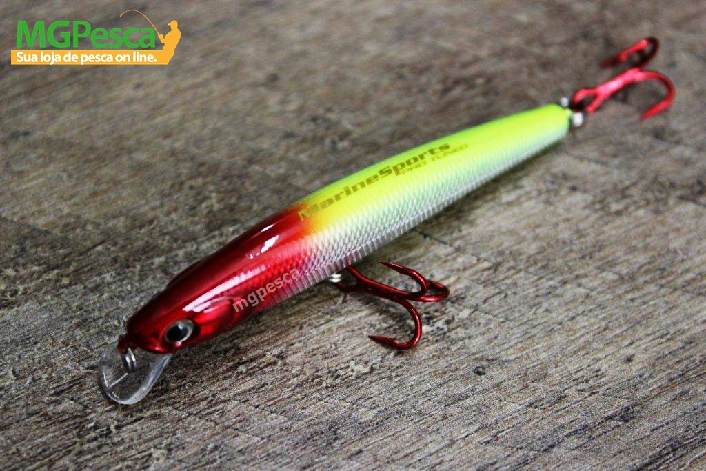 Isca Artificial Marine Sports Flash Minnow F120  - MGPesca