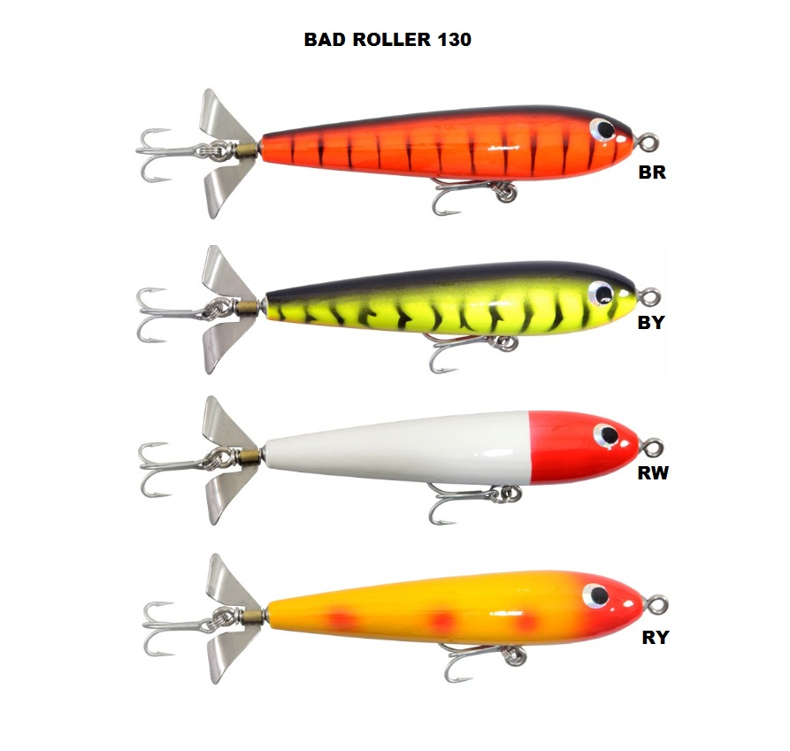 Isca Artificial Arsenal da Pesca - Bad Roller 130  - MGPesca