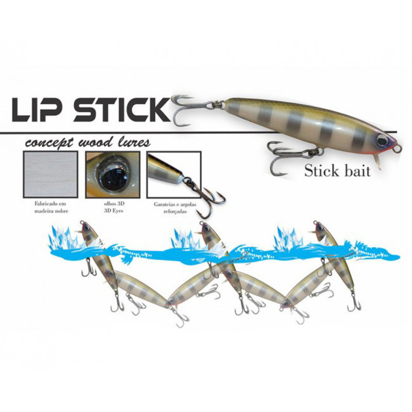 Isca Artificial OCL Lures Lip Stick 75  - MGPesca