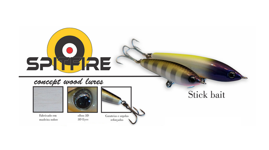 Isca Artificial OCL Lures Spitfire 75  - MGPesca