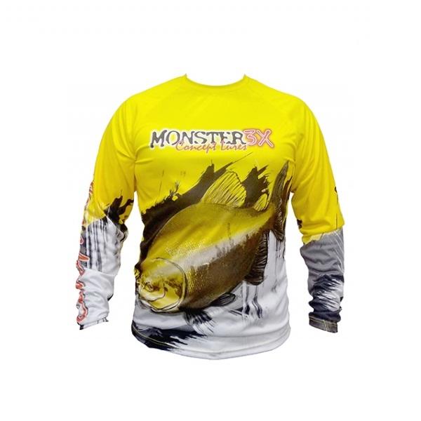 Camisa Monster 3X - Fish Collection - Tambaqui  - MGPesca