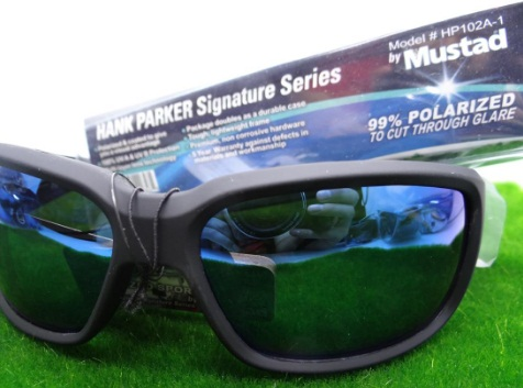 Óculos Mustad Polarizado 100% UV - Hank Parker Signature Series HP102A-1  - MGPesca