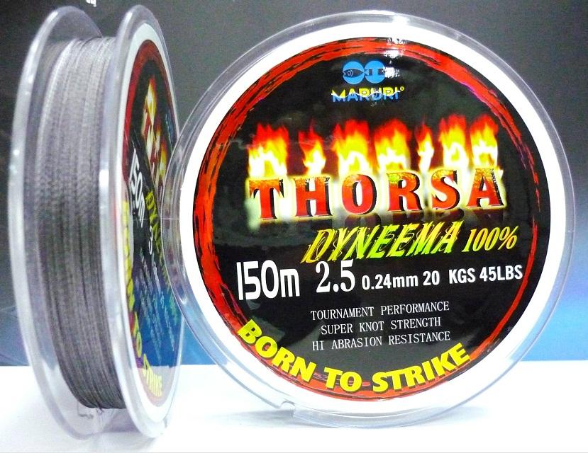 Linha Multifilamento Maruri Thorsa Dyneema 100%  - MGPesca