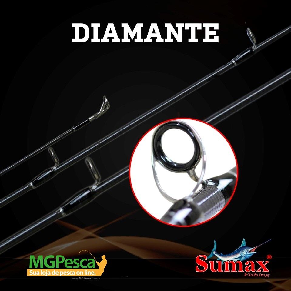 "Vara Sumax Diamante 6"" (1,80m) 12Lbs - LDM 601MLC  - MGPesca"
