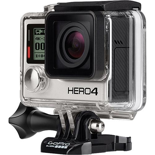 Camera GoPro Hero 4 Black Adventure - 12MP - Wi-Fi - Bluetooth - Gravação 4K  - MGPesca