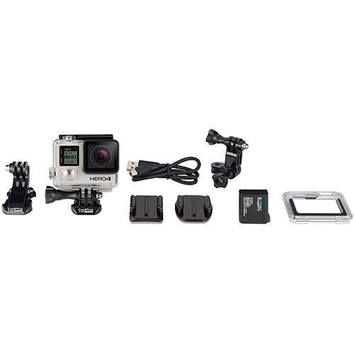 Camera GoPro Hero 4 Black Adventure - 12MP - Wi-Fi - Bluetooth - Gravação 4K  - MGPesca