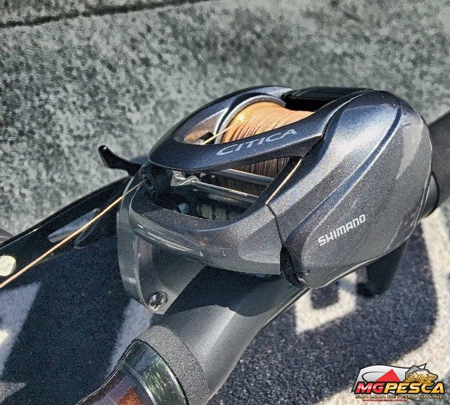 Carretilha Shimano Citica 200HG - 201HG  - MGPesca