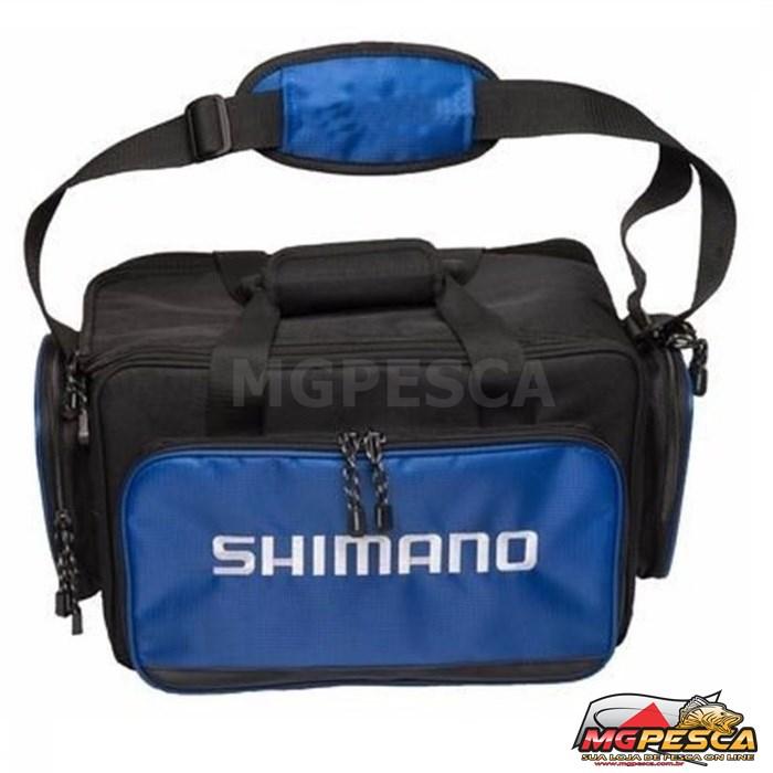 Bolsa Shimano Baltica BLT100BL (M) com 4 Estojos  - MGPesca