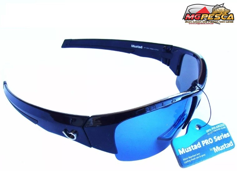 b01d800c438f2 Óculos Polarizado Mustad 100% UV - HP105A-1 - MGPesca