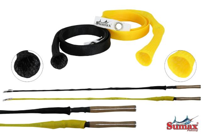 Protetor de Varas Sumax 1,80m - Preto e Amarelo  - MGPesca