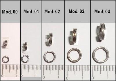 Argola Split Ring 4x Strong - Glico