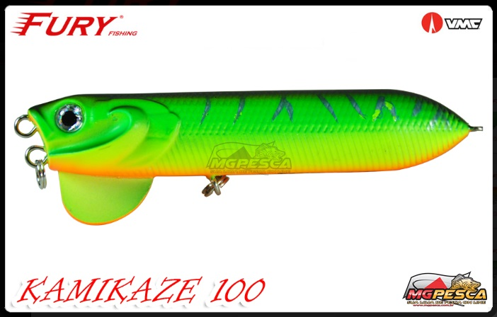 Isca Artificial Fury Fishing Kamikaze 100 - MGPesca