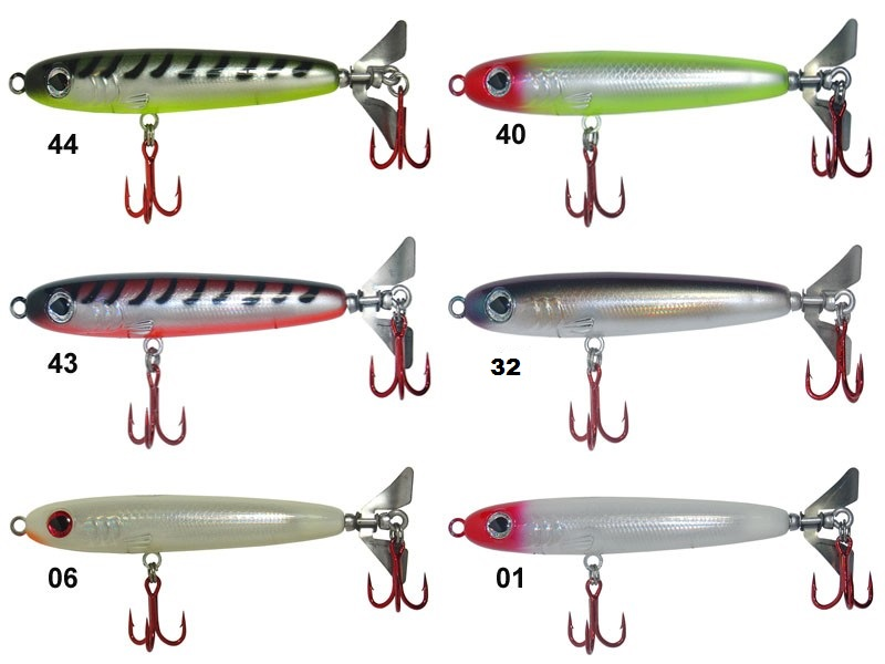 Isca Artificial Zagaia Lures Turbilhão Gold 80 - MGPesca