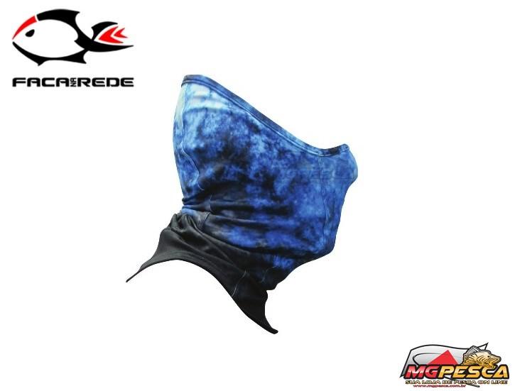 Máscara de Proteção Solar Faca na Rede Black Neck  - MGPesca