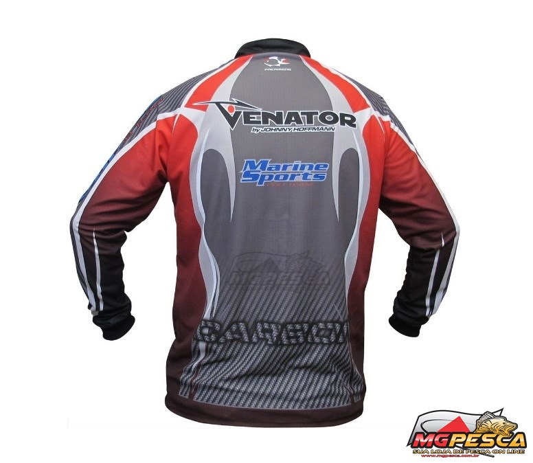 Camisa Venator Faca na Rede Licensed Jersey LC 01  - MGPesca