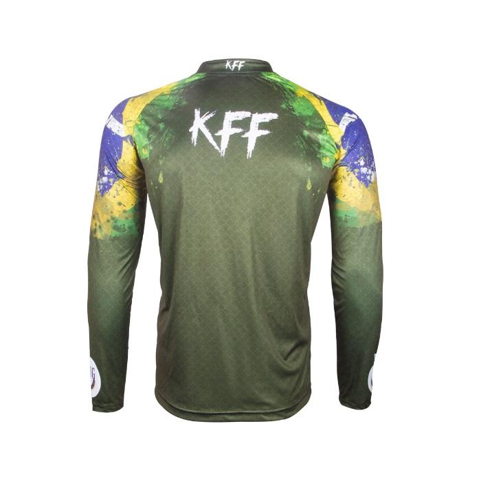 Camiseta King Sublimada - Brasil (KFF37)  - MGPesca