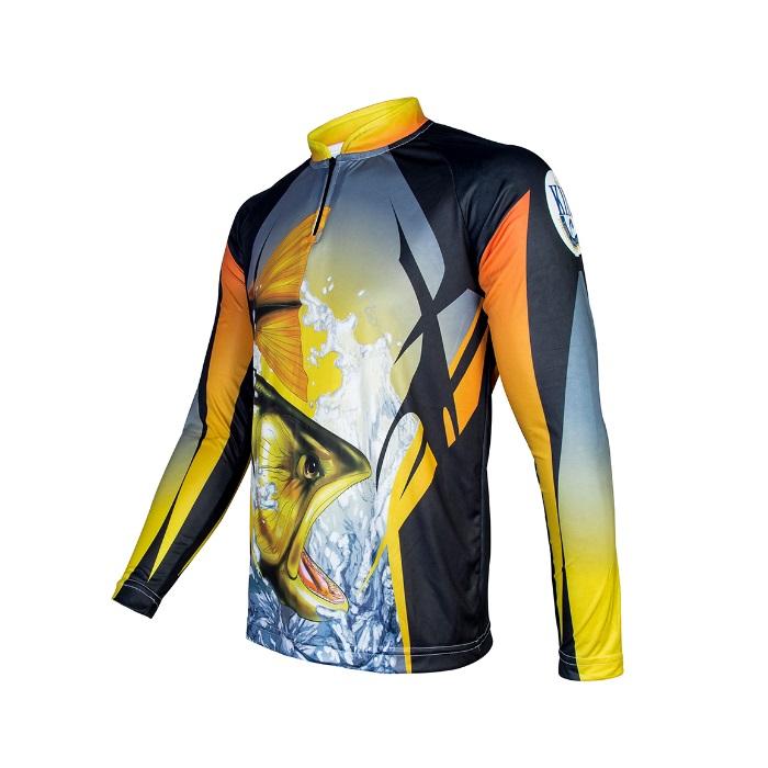Camiseta King Sublimada - Dourado (KFF28)  - MGPesca
