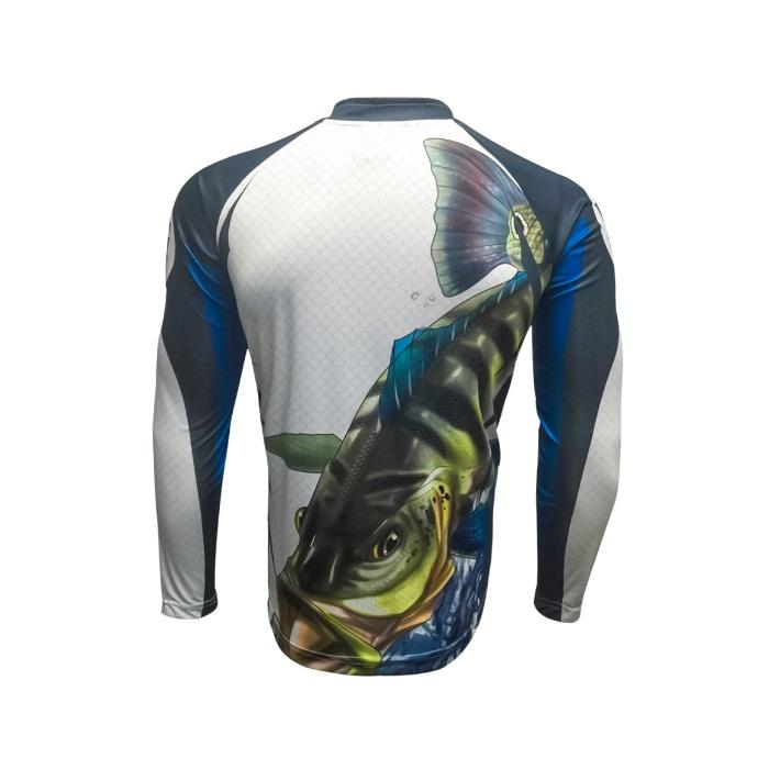 Camiseta King Sublimada - Tucunaré Azul (KFF19)  - MGPesca