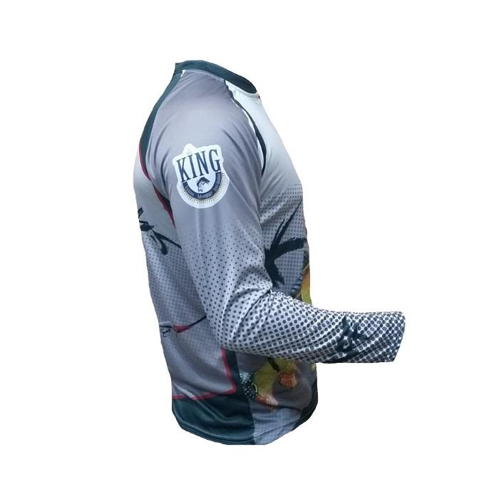 Camiseta King Sublimada Tucunaré Açu - (KFF09)  - MGPesca