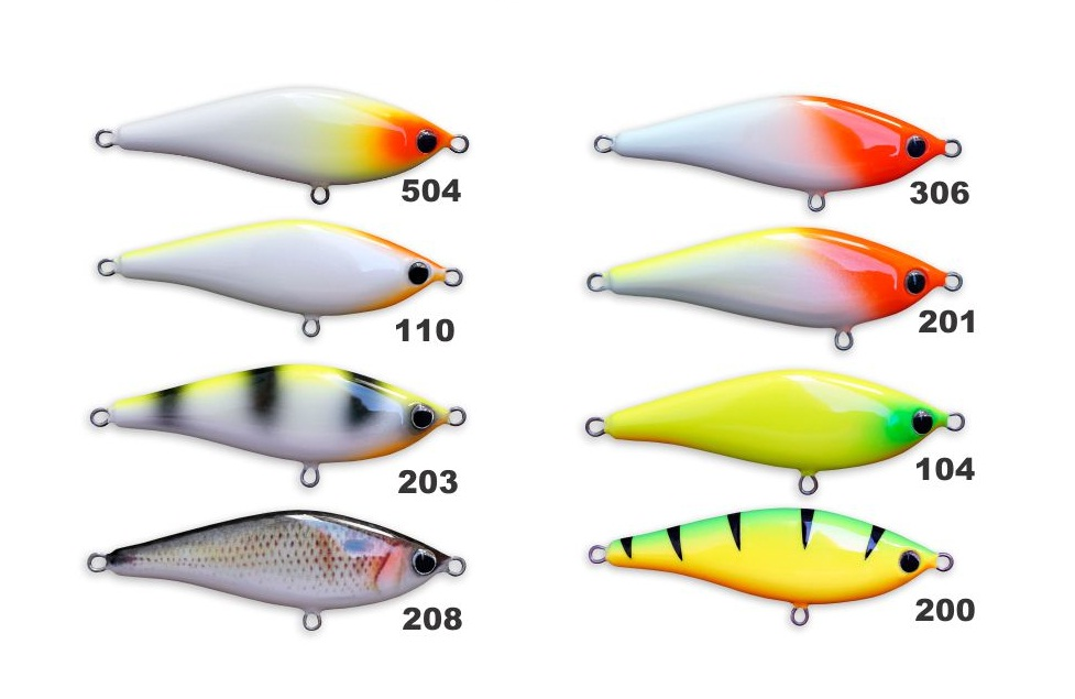 Isca Artificial OCL Lures Jerk SS 70  - MGPesca