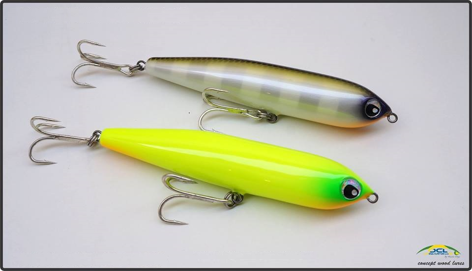 Isca Artificial OCL Lures Splash Pêncil 130 - MGPesca