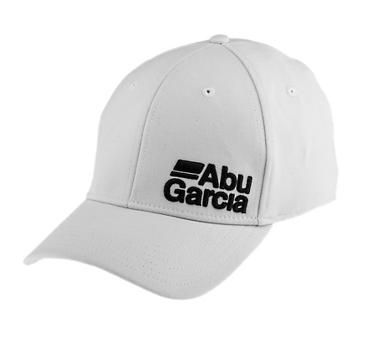 Boné Abu Garcia Fitted Hat FlexFit - FHTABUWHTS/M 1368740  - MGPesca