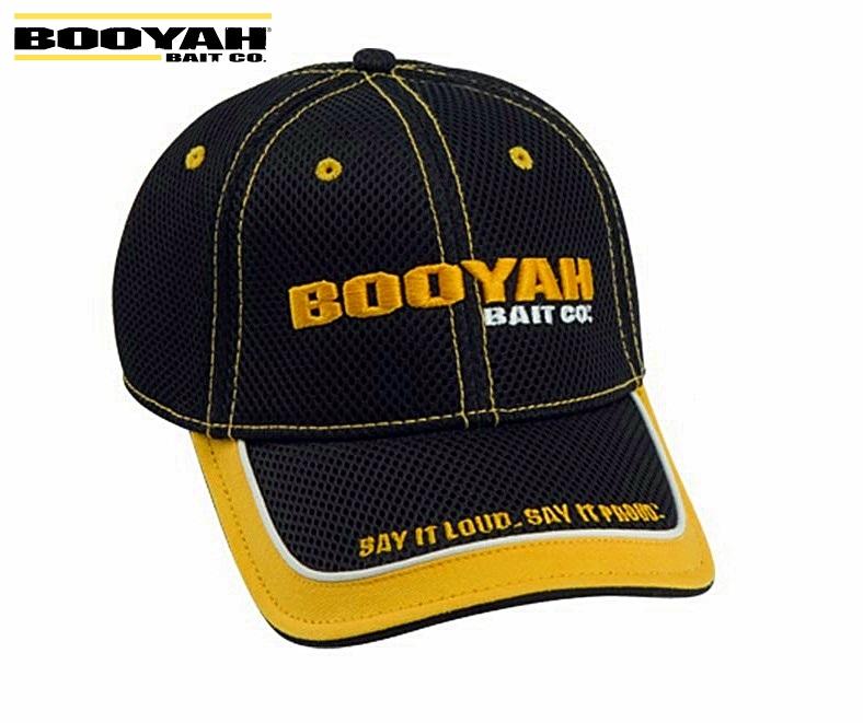 Boné Booyah Bait CO - Telinha A-Flex Fit - Preto  - MGPesca