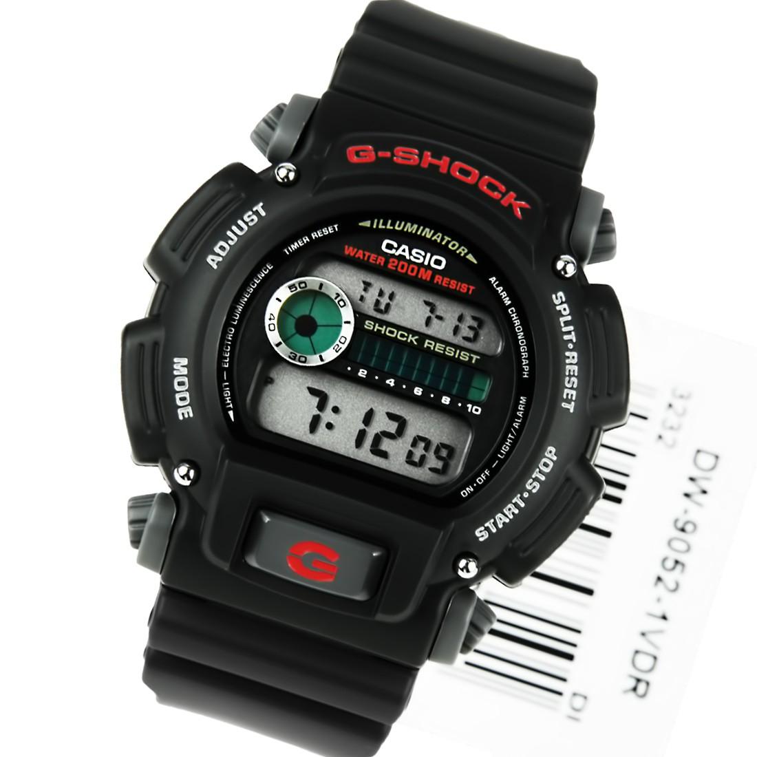 f0b2e448859 Relógio Casio G-Shock Preto DW-9052-1VDR - Masculino - MGPesca