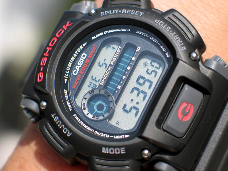 Relógio Casio G-Shock Preto DW-9052-1VDR - Masculino  - MGPesca