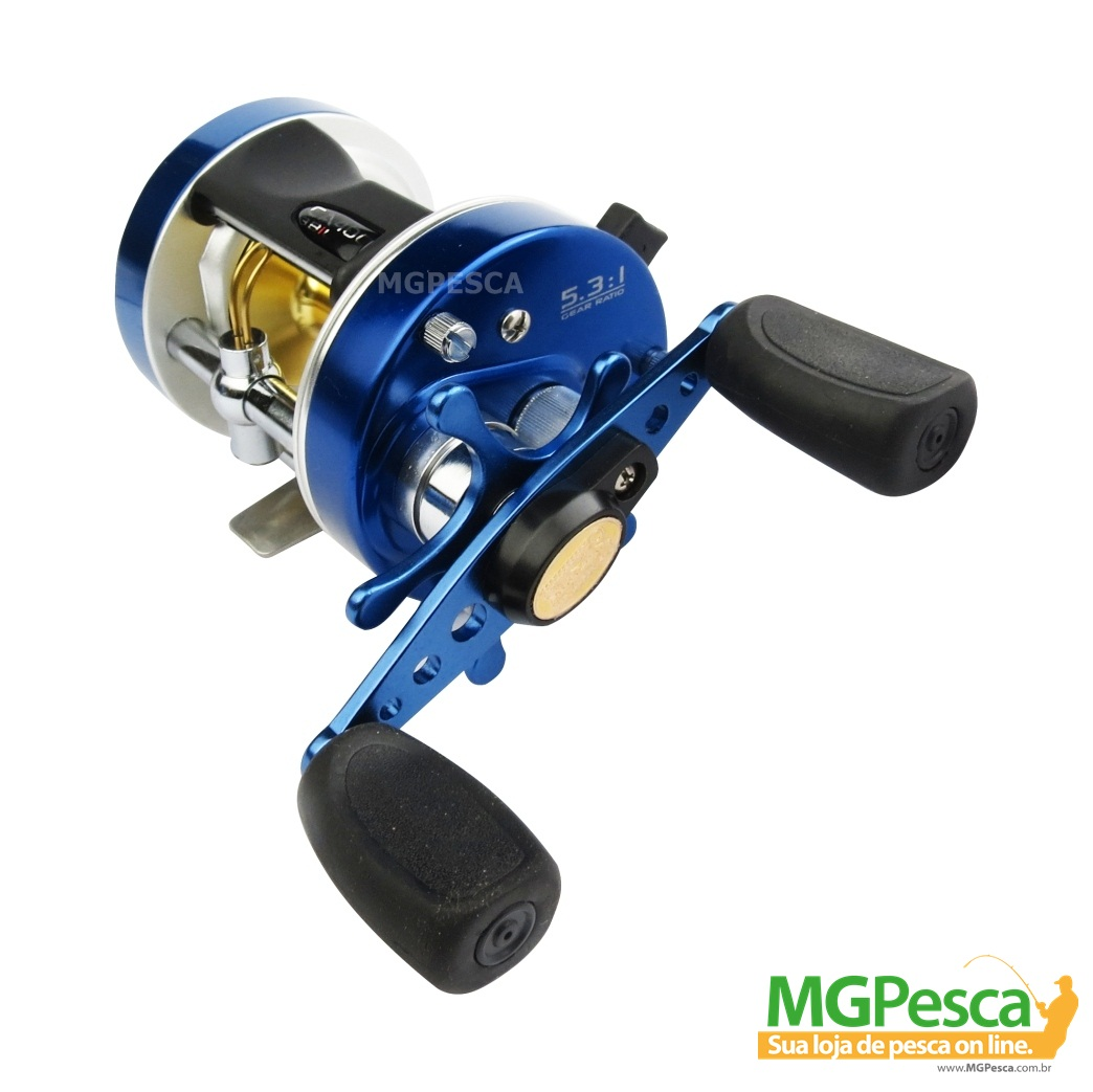 Carretilha Marine Sports Caster 400 - 400L 3bil  - MGPesca
