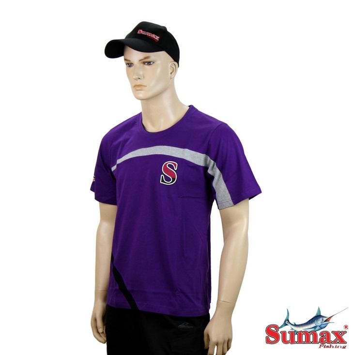 Camiseta Casual Sumax Algodão S-0247  - MGPesca