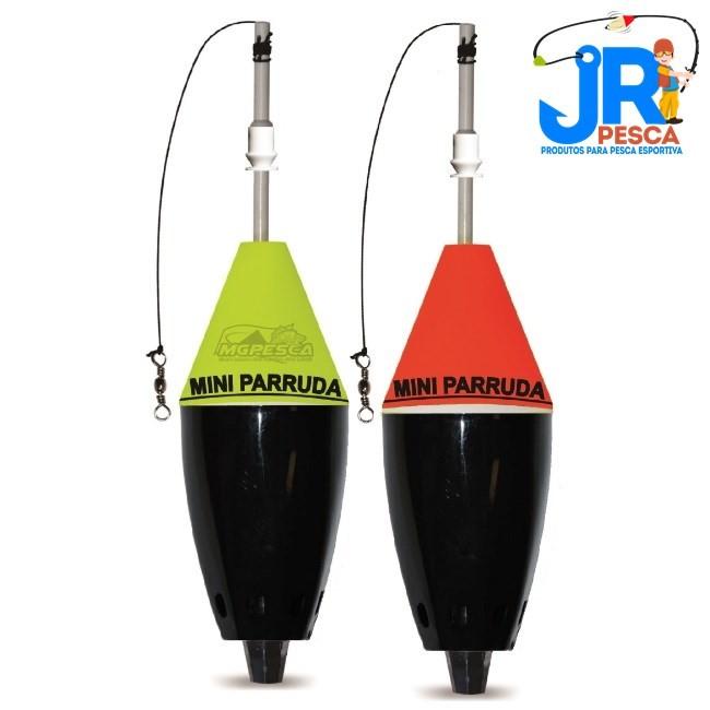Boia Cevadeira JR Pesca Mini Parruda com Amortecedor 4 cores  - MGPesca