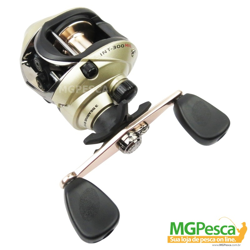 Carretilha Marine Sports New Intruder 300 HI - HIL  - MGPesca