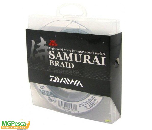 Linha Daiwa Samurai Braid 150yds (137m)  - MGPesca