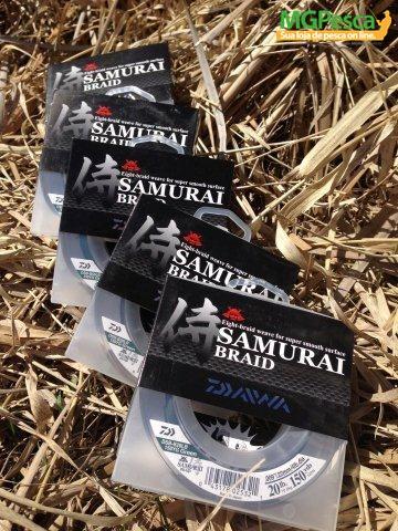 Linha Daiwa Samurai Braid  300yds (274m)  - MGPesca