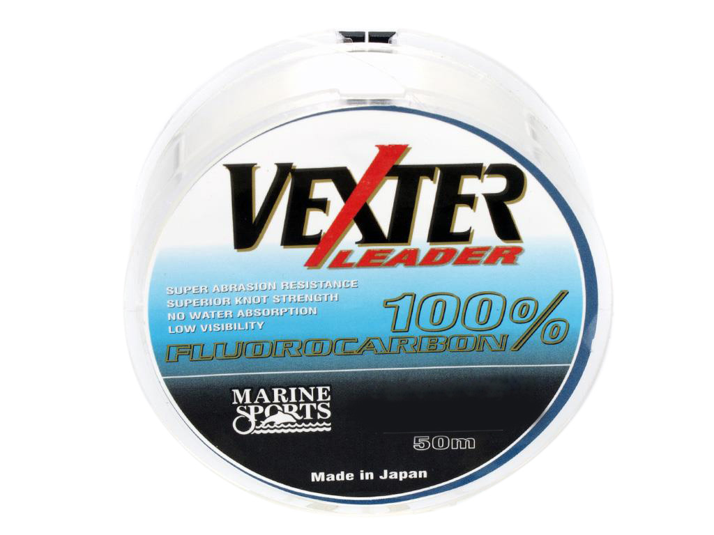 Linha Vexter Leader Fluorcarbon 50m - 0,47mm - 29lb  - MGPesca