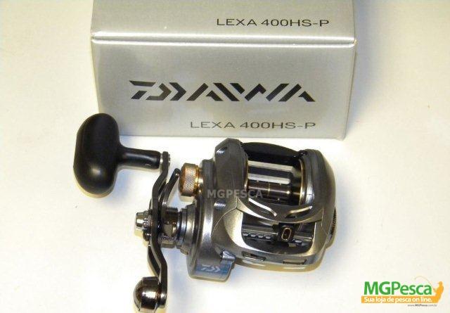Carretilha Daiwa Lexa 400HS-P -  400HSL-P  - MGPesca
