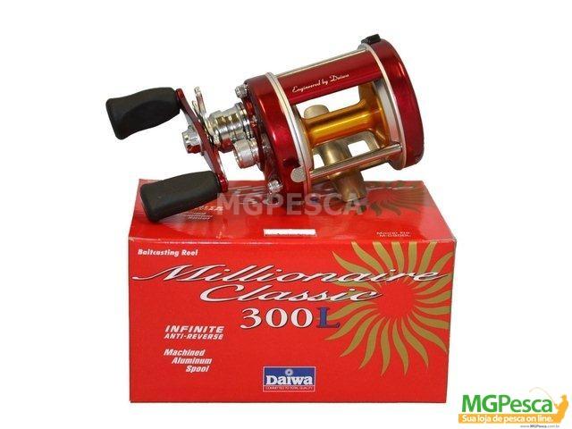 Carretilha Daiwa Millionaire Classic 300 - 300L  - MGPesca