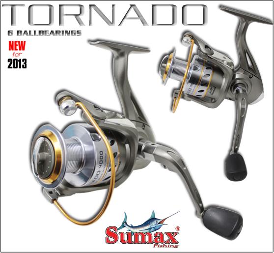 Molinete Sumax Tornado 2000  - MGPesca