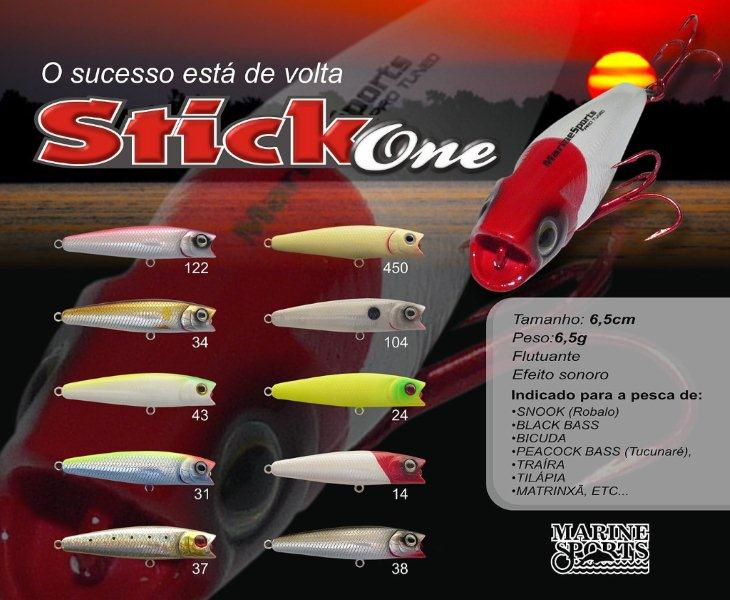 Isca Artificial Marine Sports Stick One 65 - MGPesca