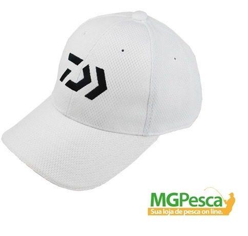 Boné Daiwa Vector - Branco  - MGPesca
