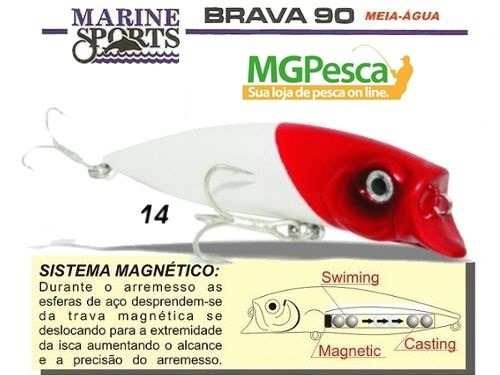 Isca Artificial Marine Sports Brava 90  - MGPesca